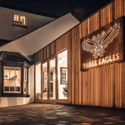 Outside the Three Eagles