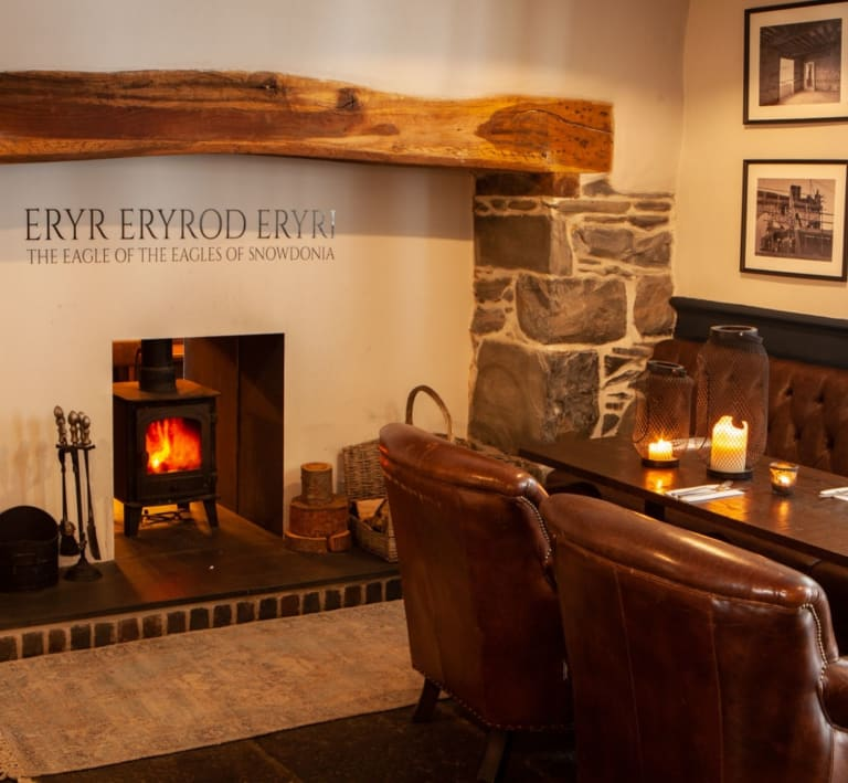 Fireside at Three Eagles