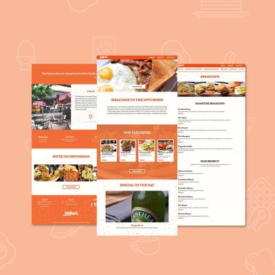 A website for Taichung's favourite American Diner
