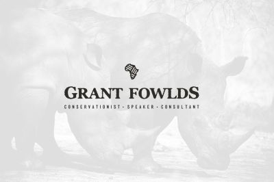 Website, Branding and Logo for Grant Fowlds: South African conservation hero