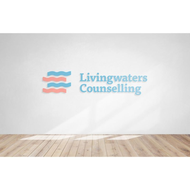 Logo Design for Counselling Practice - Livingwaters Counselling