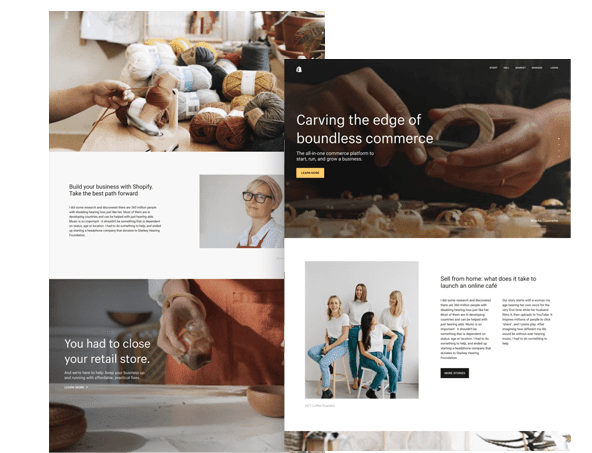 Shopify ecommerce web design Cumbria