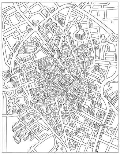 Leicester City Centre map