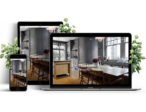 Web Design Oakham - client mock up from a website design project by Dynamics Tech