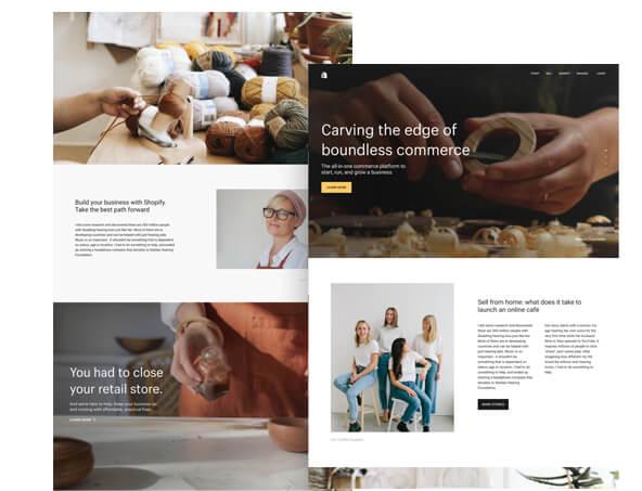 Oakham Rutland eCommerce web design using Shopify - e commerce websites - Shopify website