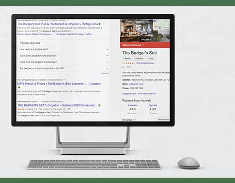 The badgers sett Google street view photography on desktop web 10920a5dcd