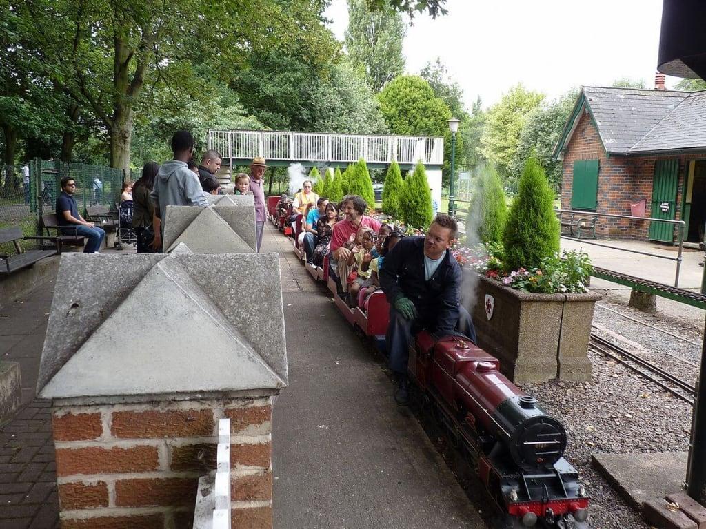 Abbey Park Miniature railway