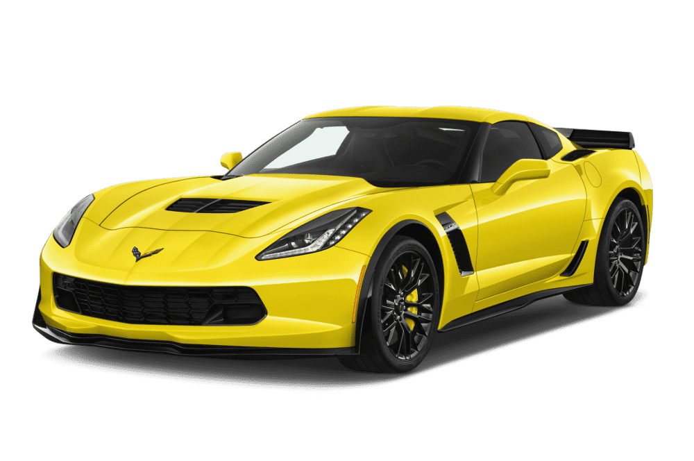 Yellow Corvette