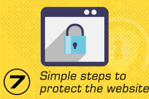 7 Simple steps to protect your website