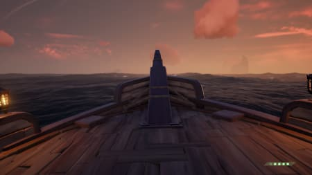 Sloop hull cutout