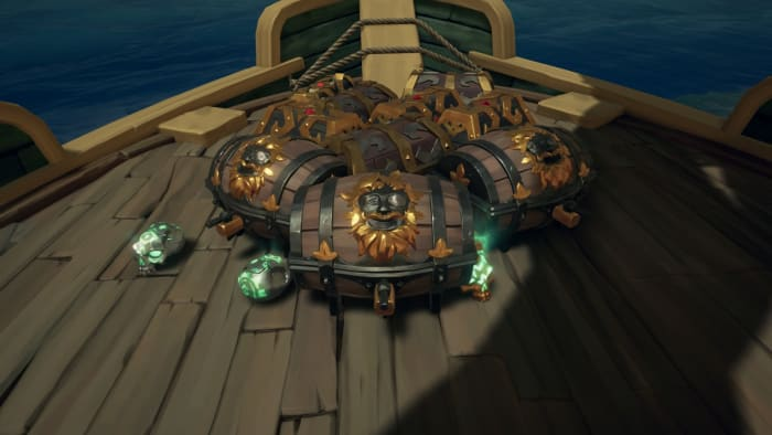 Mercenary Voyage of the Rum Runner loot