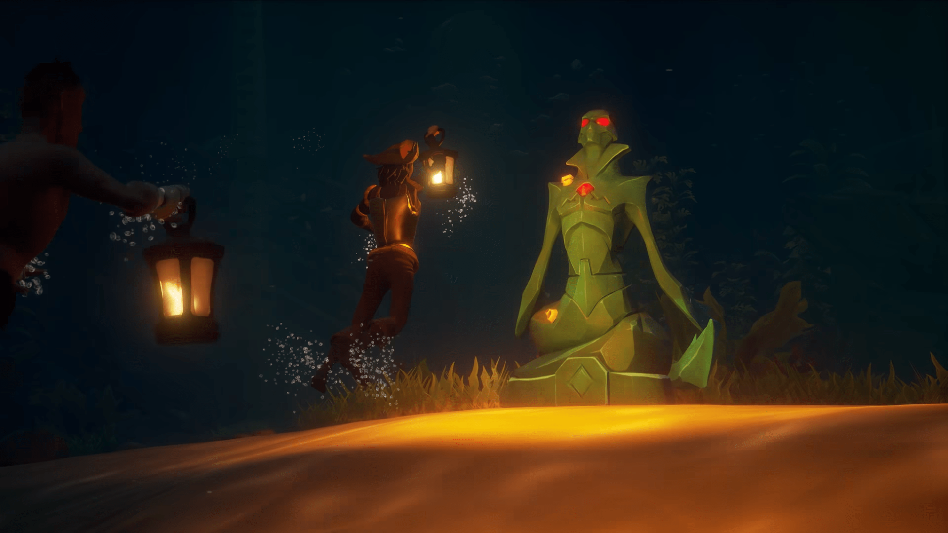 Sunken Curse Diving