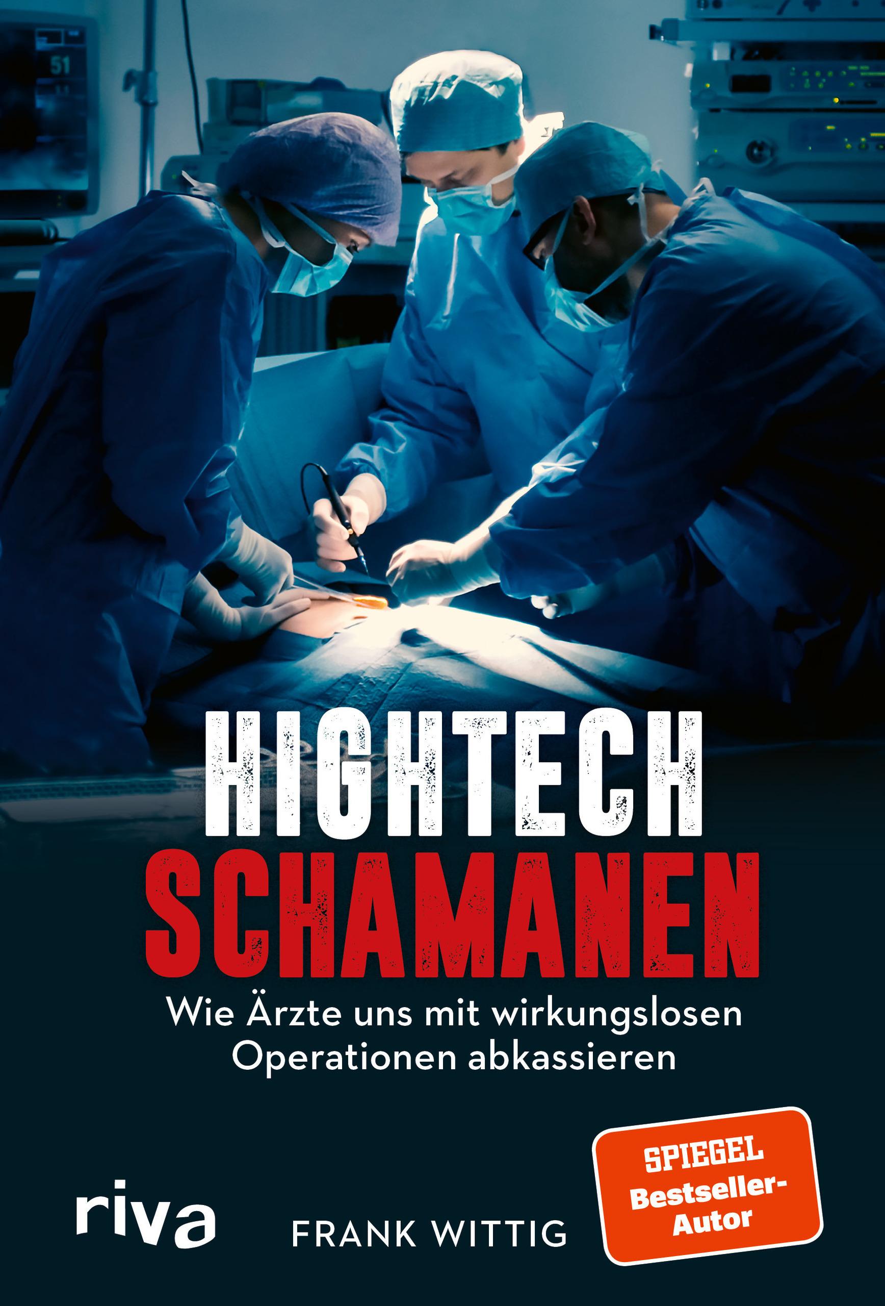 """Buchcover: """"Hightech-Schamanen"""""""