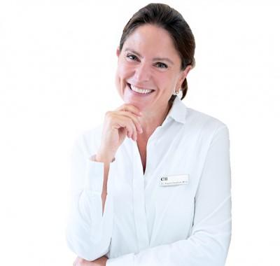dr angela dergham portrait