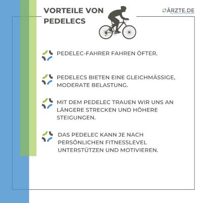 5 Vorteile von E-Bikes und Pedelecs
