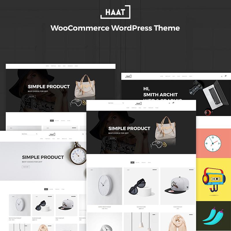 Haat - Minimalist Responsive WooCommerce Theme