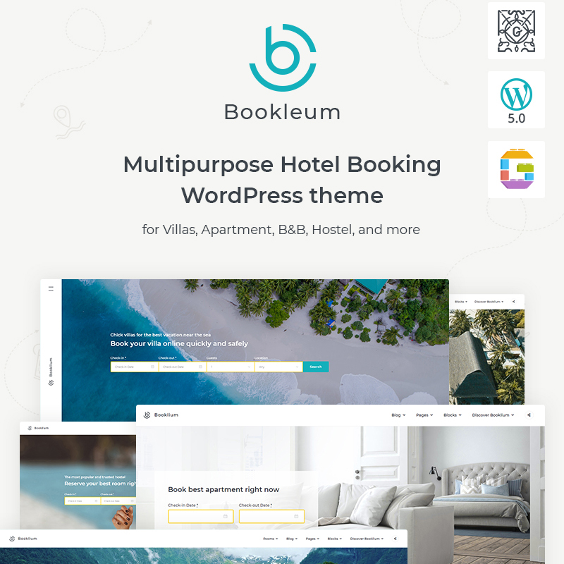 Bookleum - Rental WordPress Theme