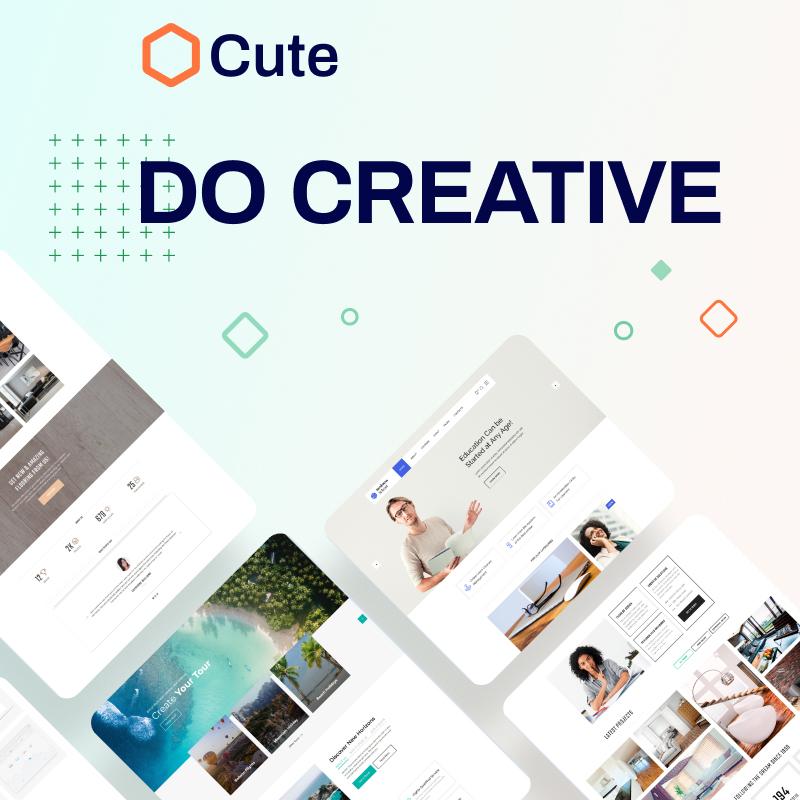 Cute Universal Website Template