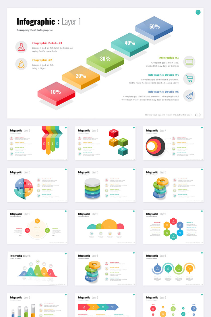 Info graphic - PowerPoint Template