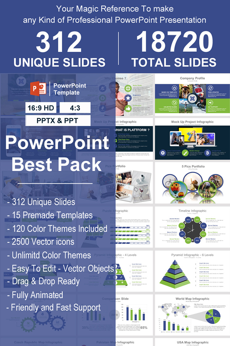 Best Pack - PowerPoint Template
