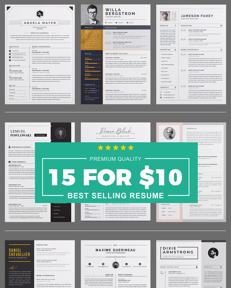 Bundle Resume Template