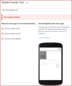 mobile failure example