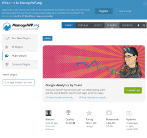 ManageWP plugin and discovery service