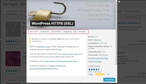 plugin profile from within WordPress