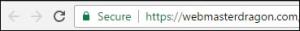 Google chrome secure icon