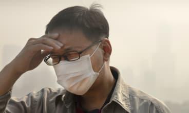 ar poluído