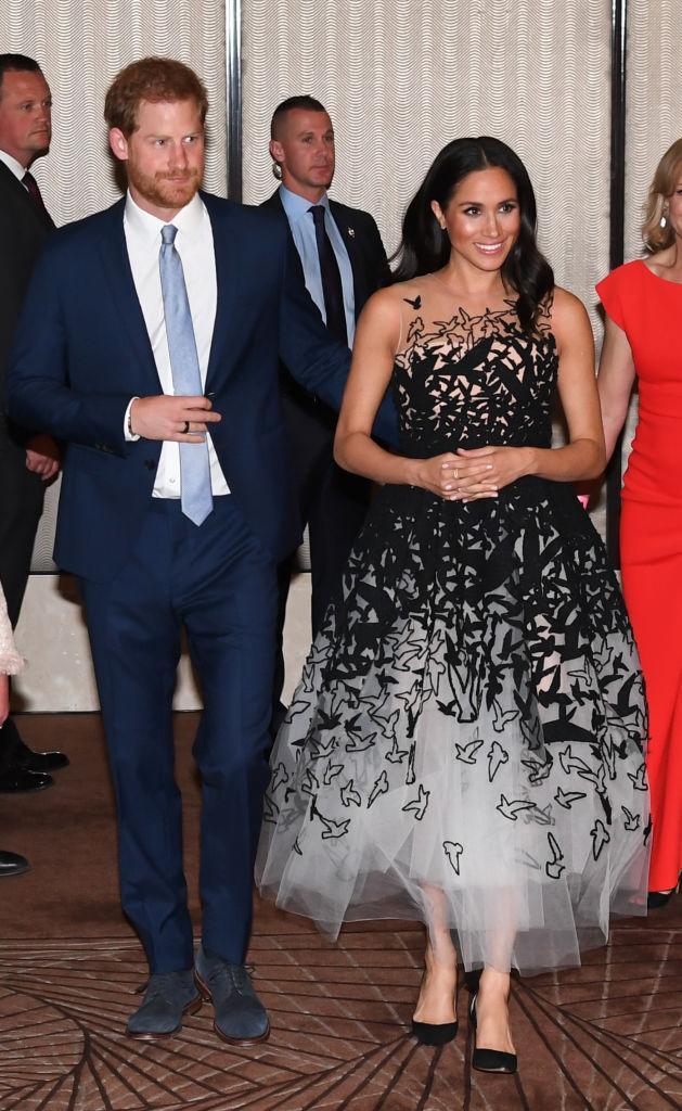 Курьеры королевских кровей: Меган Маркл и принц Гарри доставляют еду нуждающимся Лос-Анджелеса