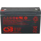 CSB Battery 6v 12 AH Deep Cycle Sealed Lead Acid Battery