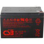 CSB Battery 12v 12 AH Sealed Lead Acid Battery w/ F2 Terminal