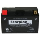 YT7B-4 Scorpion 12v 125 CCA AGM Power Sport & Motorcycle Battery