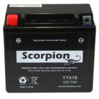 YTX7E Scorpion 12v 90 CCA AGM Power Sport & Motorcycle Battery