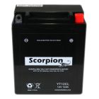 YT12CL Scorpion 12v 165 CCA AGM Scooter & Motorcycle Battery