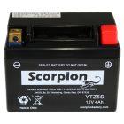 YTZ5S Scorpion 12v 80 CCA Sealed AGM Motorcycle Battery