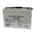 Universal 12v 90 AH Deep Cycle Sealed Gel Battery UB27-47608