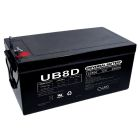 Universal Battery 12v 250 AH Deep Cycle Sealed AGM Battery