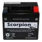 YT5L-BS Scorpion 12v 80 CCA AGM ATV & Motorcycle Battery