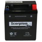 YT3L Scorpion 12v 35 CCA Sealed AGM Motorcycle Battery