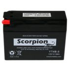 YT4B-5 Scorpion 12v 30 CCA AGM Scooter & Motorcycle Battery