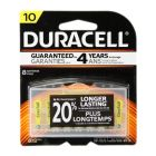 Duracell 10 Hearing Aid Battery with EasyTab 8 Pack - DA10B8ZM10