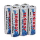 Tenergy Premium AA Cell 2500 mAh NiMH Rechargeable Battery 6-Pack - AA-10320x6