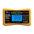 Battery Saver 6v 12v 12 Watt (1.25A) Mini-Maintainer, Pulse Cleaner & Tester - 1200-LCD