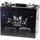 Kinetik Marine 12v 75 AH 945 CCA Dual Purpose AGM Marine Battery
