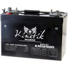 Kinetik Marine 12v 90 AH 950 CCA Dual Purpose AGM Marine Battery
