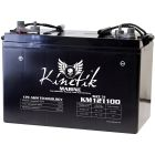Kinetik Marine 12v 110 AH 1205 CCA Dual Purpose AGM Marine Battery