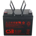CSB Battery 12v 34 AH Deep Cycle Sealed Lead Acid AGM Battery