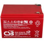 CSB Battery 12v 15 AH Deep Cycle Sealed Lead Acid Battery